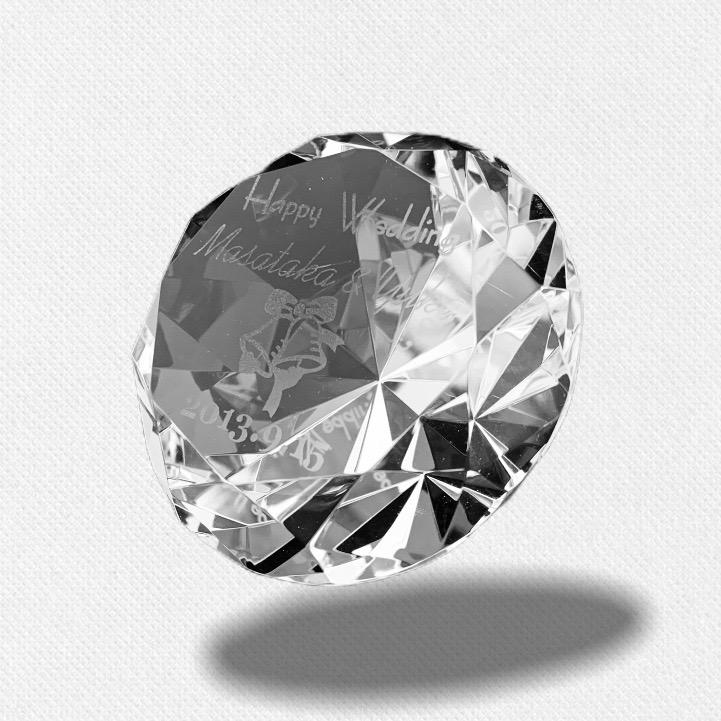 ダイヤモンドペーパーウェイト