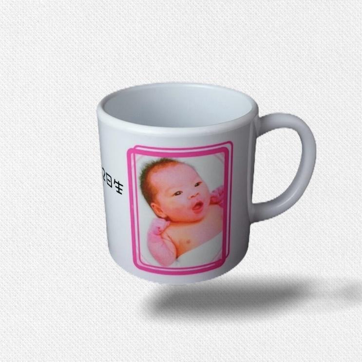子供用ポリマー製マグカップ
