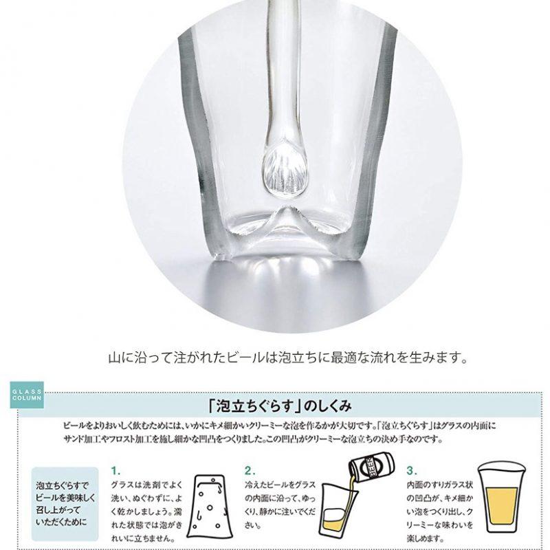 泡立ちグラス